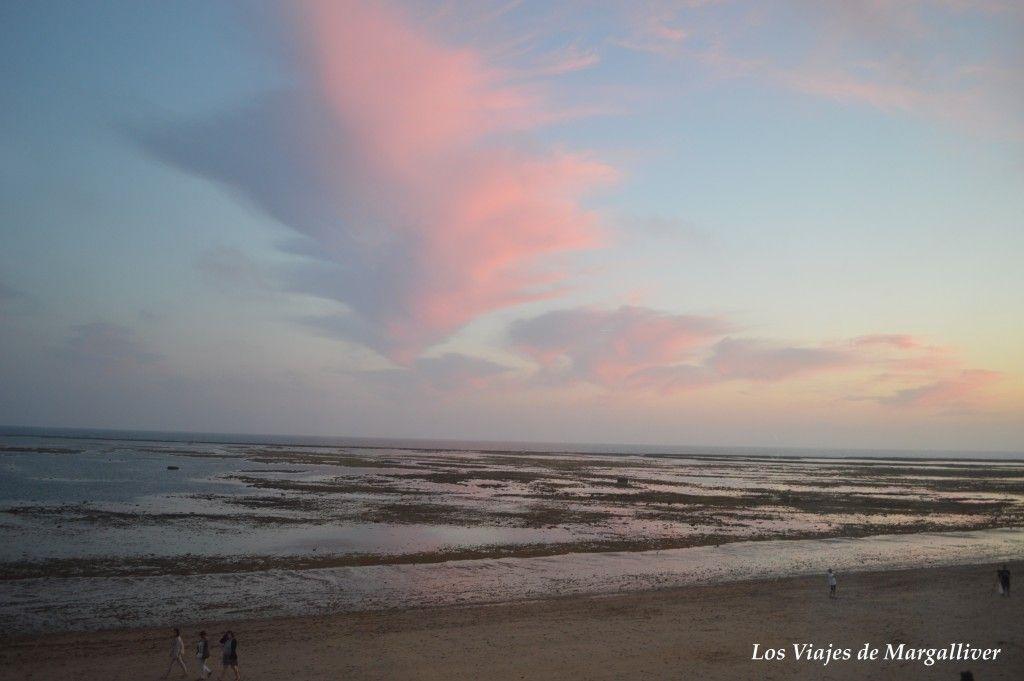 Vistas de los corrales de Rota desde el Hotel Playa de la Luz en Rota - Los viajes de Margalliver
